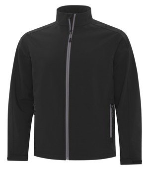 apparel jackets softshell jackets atc™ game day™ soft shell jacket black and coal grey