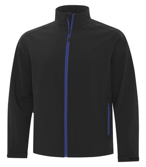 apparel jackets softshell jackets atc™ game day™ soft shell jacket black and true royal