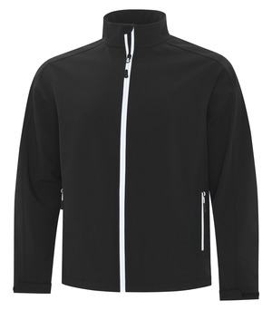 apparel jackets softshell jackets atc™ game day™ soft shell jacket black and white
