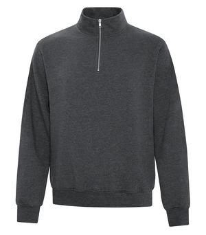 apparel quarter zip sweatshirts sweatshirts atc™ everyday fleece 1by4 zip sweatshirt dark heather
