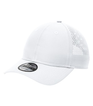hats headwear new era® perforated performance cap white
